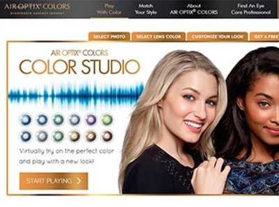 AIR OPTIX COLORS STUDIO