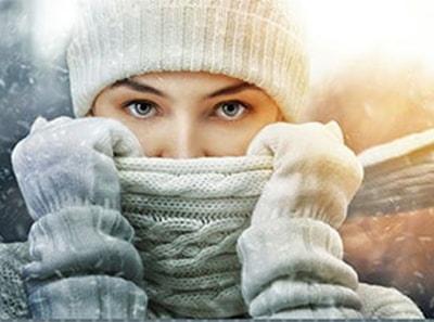 Kontaktiniai lęšiai žiemą - ką reikėtų žinoti?