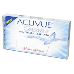 ACUVUE OASYS WITH HYDRACLEAR PLUS - 6 lęšiai