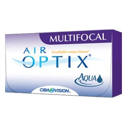 AIR OPTIX AQUA MULTIFOCAL - 1 lęšis