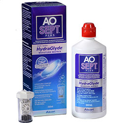 AOSEPT PLUS WITH HYDRAGLYDE (360ML) - 1 vnt.