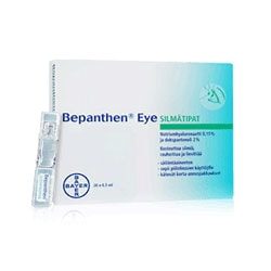 BEPANTHEN EYE (20 X 0.5 ML) - 1 vnt.